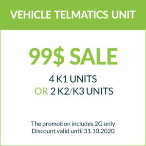 K UNITS – 99$ Sale