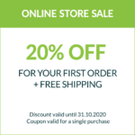 20% OFF For Your First Order